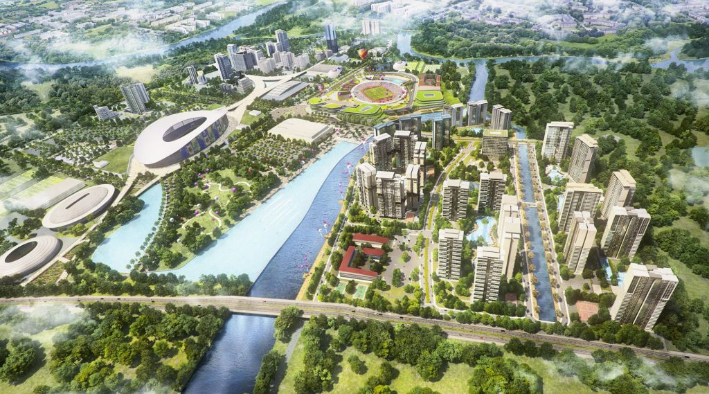 Dự án Velona saigon sports city quận 2 keppel land